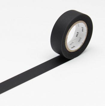 masking tape in mattschwarz