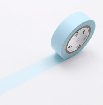 washi tape pastel powder blue