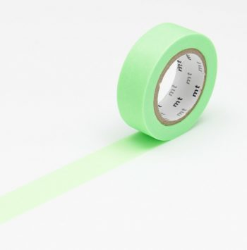 maskingtape shocking green