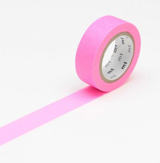 maskingtape shocking pink