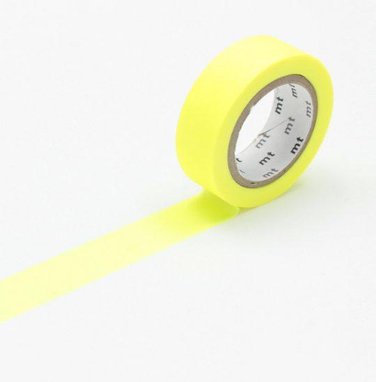 maskingtape shocking yellow