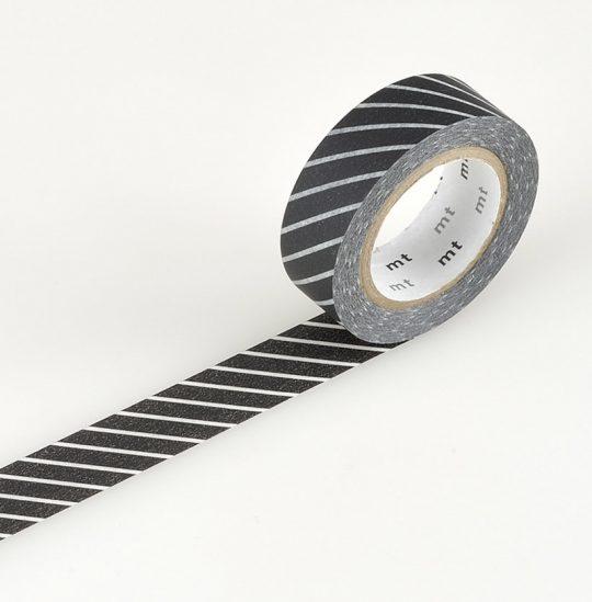 masking tape schwarz gestreift