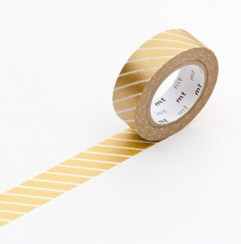maskingtape stripe gold