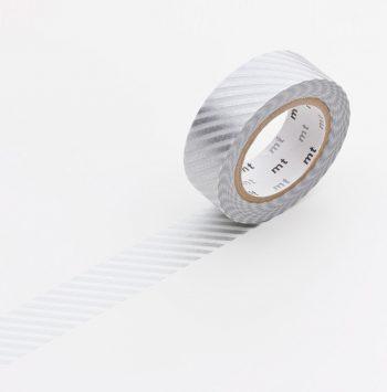 masking tape stripe silver