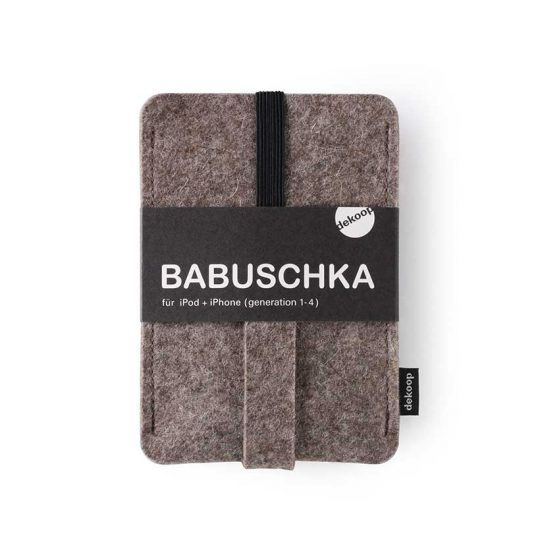 Babuschka iPhone 1-4 in natur