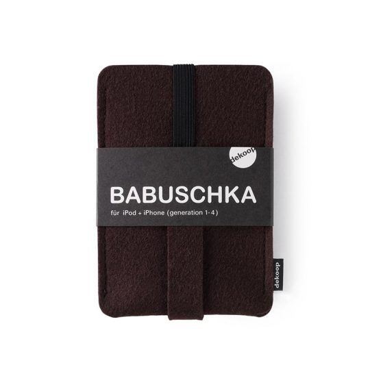 Babuschka iPhone 1-4 in braun