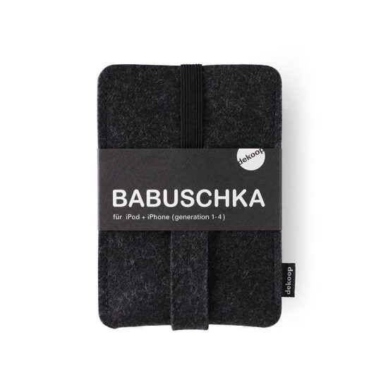 Babuschka iPhone 1-4 in anthrazit