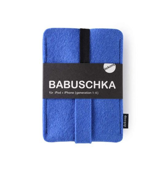 Babuschka iPhone 1-4 in blau