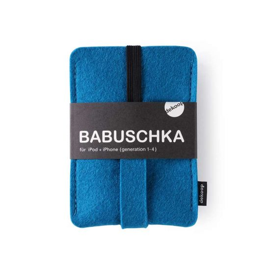 Babuschka iPhone 1-4 in petrol