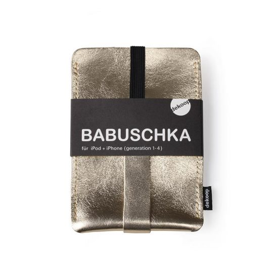 Babuschka iPhone 1-4 in gold