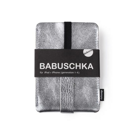Babuschka iPhone 1-4 in silber