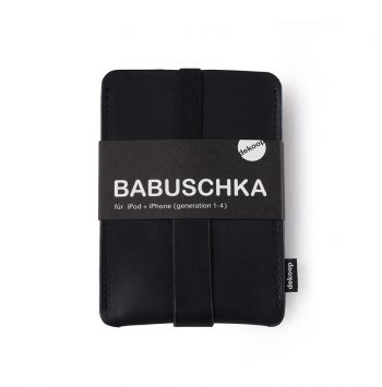 Babuschka iPhone 1-4 in schwarz