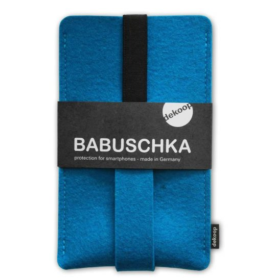 Babuschka Handyhülle FIlz iPhone 6 Plus in petrol