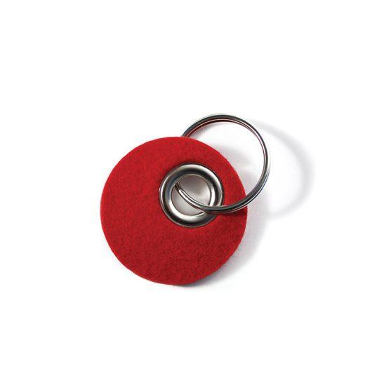 Kreisanhänger in rot
