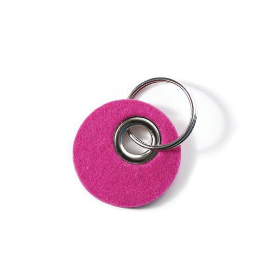 Kreisanhänger in pink