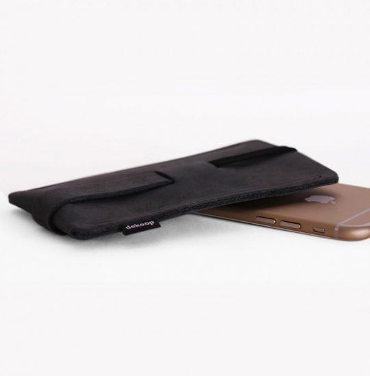 handyhülle aus leder für das iphone 6